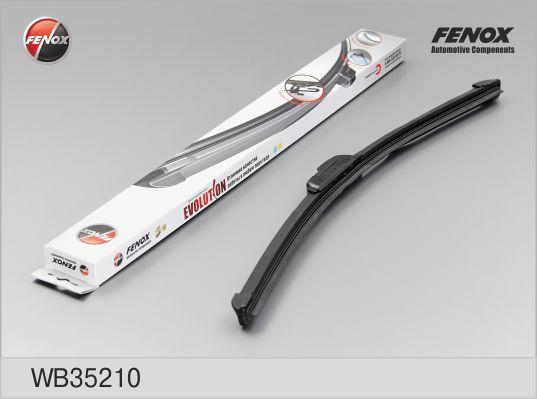 """Щетка с/о FENOX WB35210 350 мм (14""""); бескаркасная """"крючок"""" универсальная"""
