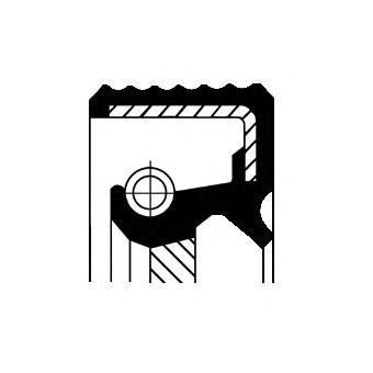 Сальник CORTECO 15510078B /15510078/
