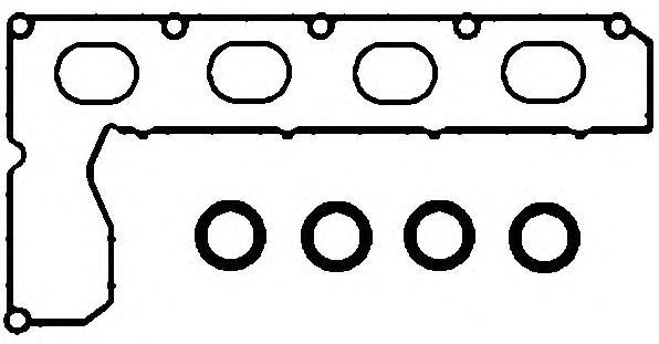 Прокладки впускного коллектора и клапанной крышки D20