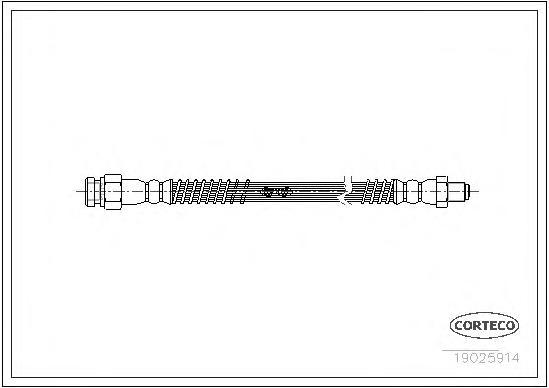 Тормозной шланг задний [235mm]