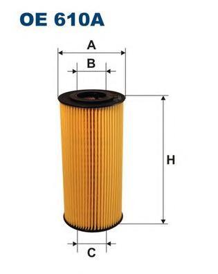 Фильтр масляный OE610A