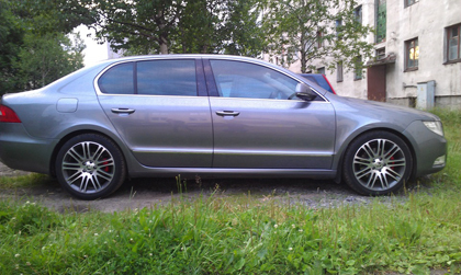 Eibach Skoda Superb