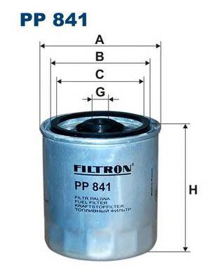 Фильтр топливный PP841