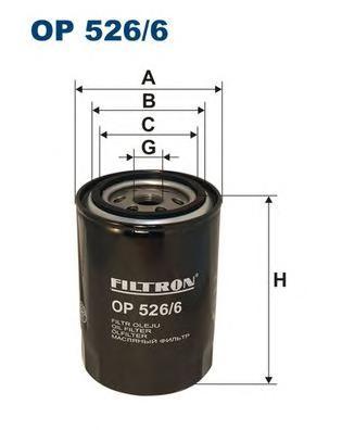 Фильтр масляный OP526/6