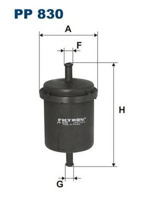 Фильтр топливный FILTRON PP 830