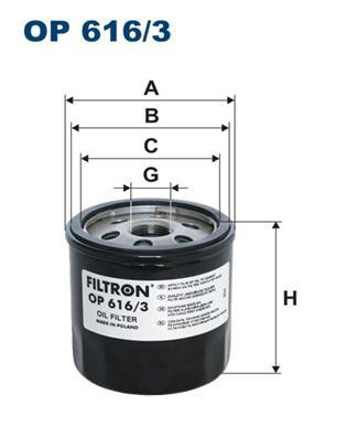 Фильтр масляный AUDI A3 (8V), SEAT LEON III, MII