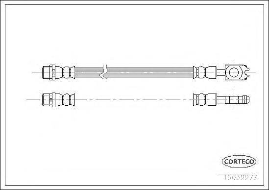 Шланг тормозной AUDI: A6 1.8 T quattro/2.4 quattro/2.5 TDI quattro/2.7 T quattro/2.8 quattro/3.0 quattro/3.7 quattro/4.2 quattro/S6 quattro 97-05, A6