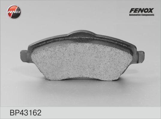 Колодки тормозные FENOX BP43162 OPEL Corsa-C 00-06