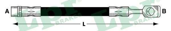 Шланг тормозной LPR 6T47841 OPEL CORSA C пер