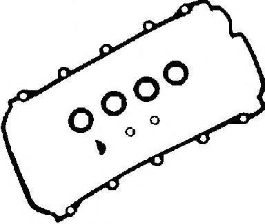 Прокладка к/к VICTOR REINZ 153429201 AUDI A6/A8 3.7/4.2 077198025A