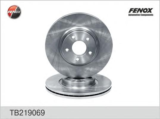 Диск тормозной передний Ford Focus II, Land Rover Freelander 2 06-/Volvo S40 TB219069