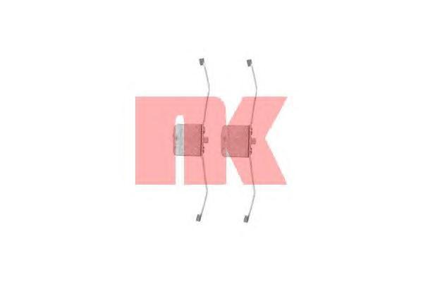 Монтажный комплект передних колодок / AUDI A-4,6,8,TT•FORD C-Max,Focus-II,Kuga•MAZDA-3•OPEL Signum,Vectra-C•VW Eos,Passat-VI 03~