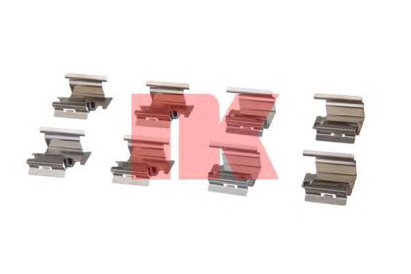 Комплект монтажный тормозных колодок 7923218