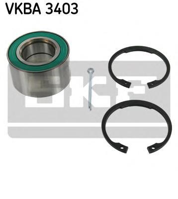 Подшипник ступичный передн OPEL: ASTRA 1.4-1.6 94-96, CORSA 93-96, VECTRA 1.6 94-95