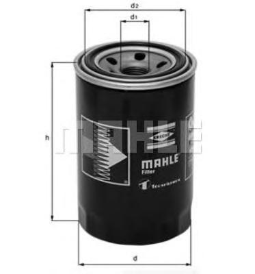 Фильтр масляный MITSUBISHI ASPIRE VI, LANCER Mk III,IV,V, PAJERO/SHOGUN I,II,III