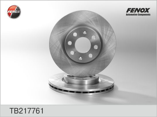 Диск тормозной передний Opel Adam, Corsa D, Fiat TB217761
