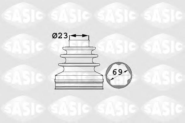 Пыльник ШРУСа внутр VW PASSAT (3C2) 1,6FSI, 1,8TSI, 2,0FSI АКПП 1906024