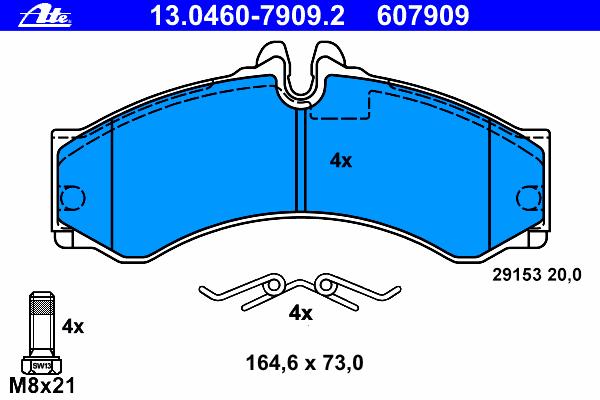 Колодки тормозные дисковые ,MERCEDES-BENZ: SPRINTER 2-t c бортовой платформой 208 CDI/208 D/210 D/211 CDI/212 D/213 CDI/214/214 NGT/216 CDI 95-06, SPR
