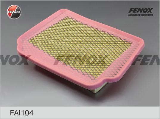 Фильтр воздушный Chevrolet Lacetti 1,4-1,8 05- , Nubira 1,6, 1,8 05- FAI104