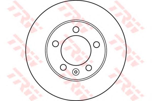 Диск тормозной передний RENAULT MASTER III, OPEL MOVANO B (302мм) DF6131S
