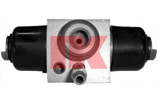 Цилиндр тормозной задний / AUDI,SEAT,VW (алюминий 17,4 мм ) 74~