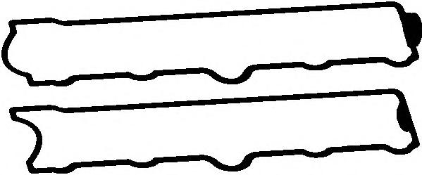 Прокладка клапанной крышки OPEL ASTRA/CORSA/TIGRA 1.4/1.6 94- компл.