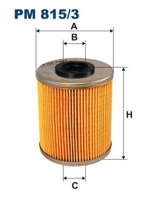 Фильтр топливный PM815/3
