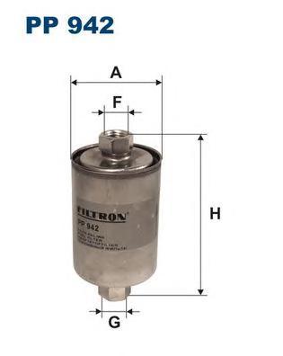 Фильтр топливный FILTRON PP942 L.R.FREELANDER