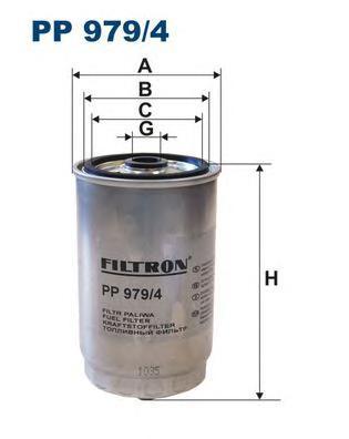 Фильтр топливный PP979/4