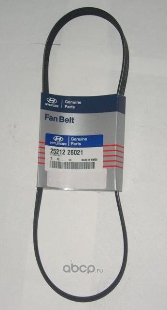 2521226021 Hyundai-KIA Accent 1.5 16v Ремень генератора 1.5 8v
