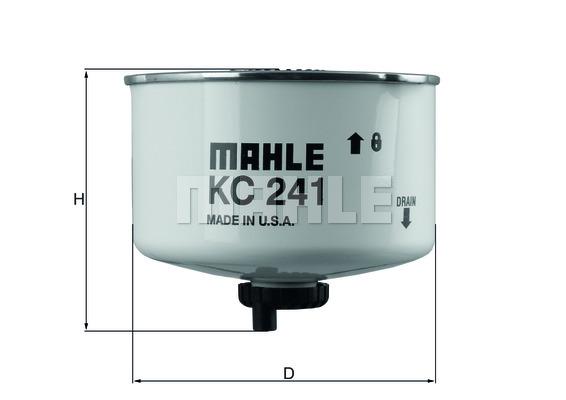 Фильтр топливный LAND ROVER: DISCOVERY IV 3.0 TD 09 -, RANGE ROVER SPORT 3.0 TD, 3.6 TD 805-