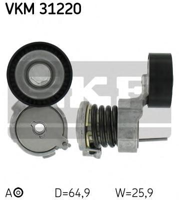 Ролик натяжителя VKM31220