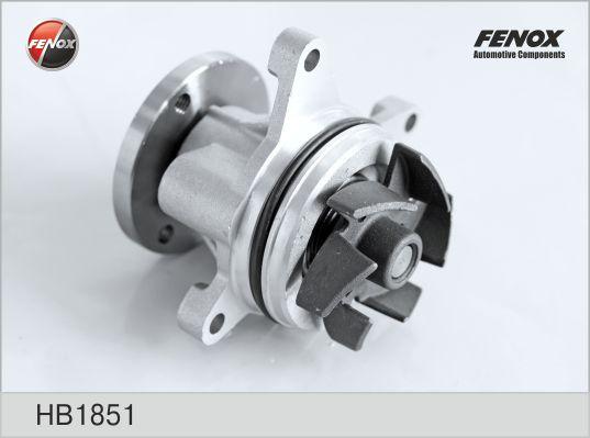 Помпа FENOX HB1851 Ford Mondeo/Focus Mazda 3/6/MPV/Tribute 1.8-2.3 16V 00-