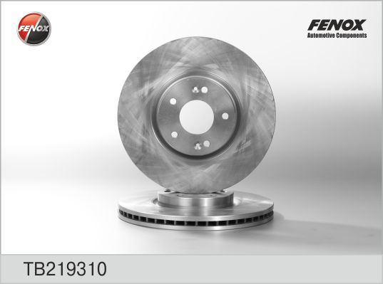 Диск тормозной передний Hyundai ix55 08- , Santa Fe 06- TB219310