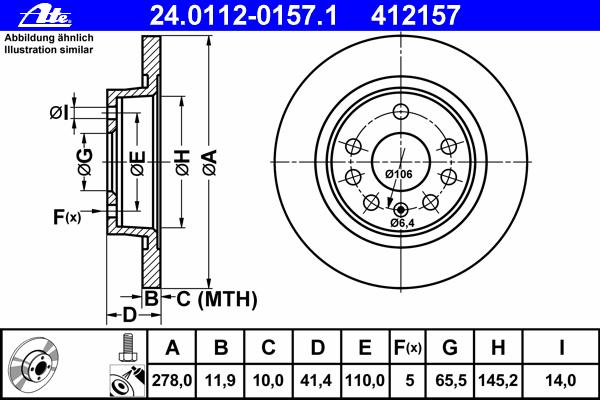Диск тормозной задн, FIAT: CROMA 1.8 16V/1.9 D Multijet/2.2 16V 05- \ OPEL: SIGNUM 1.8/1.9 CDTI/2.0 DTI/2.2 DTI/2.2 DTI 16V/2.2 direct/2.8/2.8 V6 Turbo/3.0 V6 CDTI
