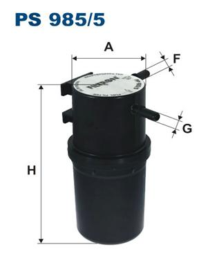 Фильтр топливный PS985/5