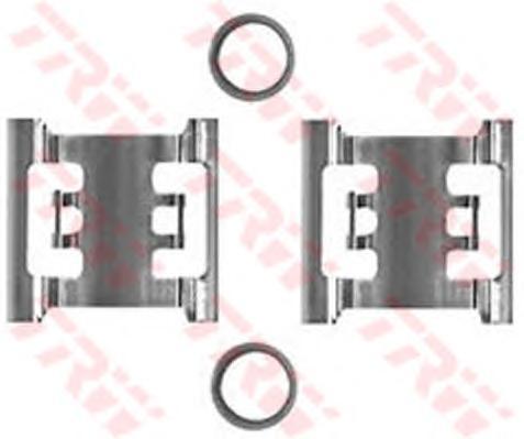 Пружинки тормозных колодок FORD:TRANSIT бортовой/ходовая часть 09.91-, TRANSIT бортовой/ходовая часть 09.88-09.92, TRANSIT автобус 01.91-, TRANSIT автобус 09.88-09.92,