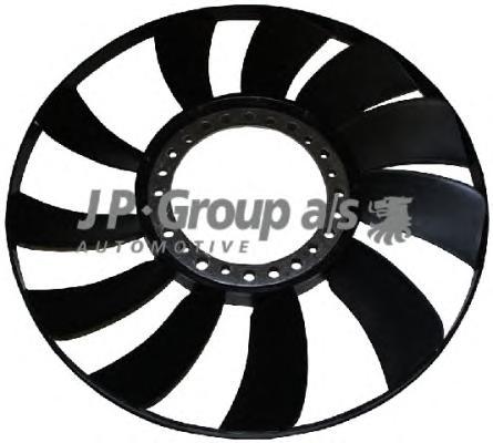 Крыльчатка вентилятора охл. AUDI-A4,6;VW Passat-V