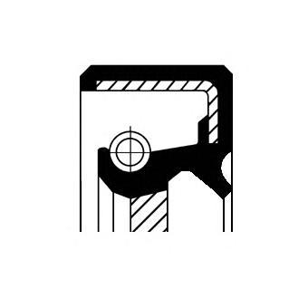 Сальник коленвала передн 44x60x7 FxA HTC Mitsubishi Colt/Galant/Lancer 1.6 - 2.0TD 84> /L300 2.5D 86>