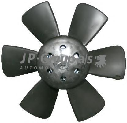 Вентилятор радиатора (100/60Watt- 280mm) AUDI, SEA