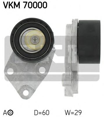 Ролик натяжителя VKM70000