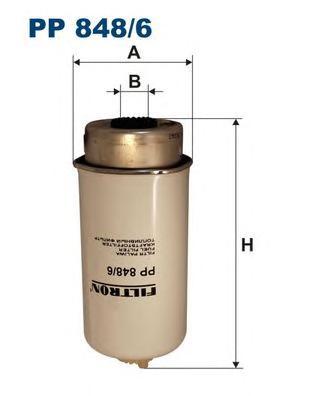 Фильтр топливный PP848/6