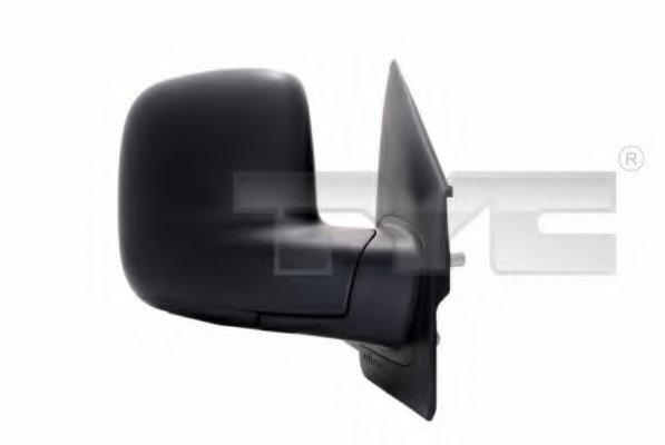 Зеркало наружное в сборе лев, ручн, асферич VW: TRANSPORTER T5 - 03-09