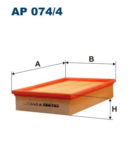 Фильтр воздушный (прямоугольный)
