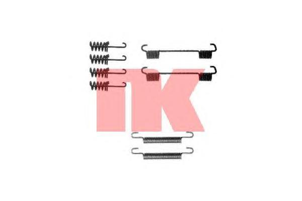 Монтажный комплект колодок ручного тормоза / M.B Sprinter,VW LT 28-46 95~