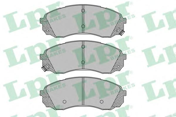 Комплект тормозных колодок 05P1451