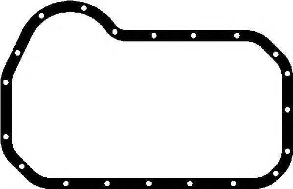 Прокладка поддона AUDI/VW 1,3-2,0 72-96 14034800