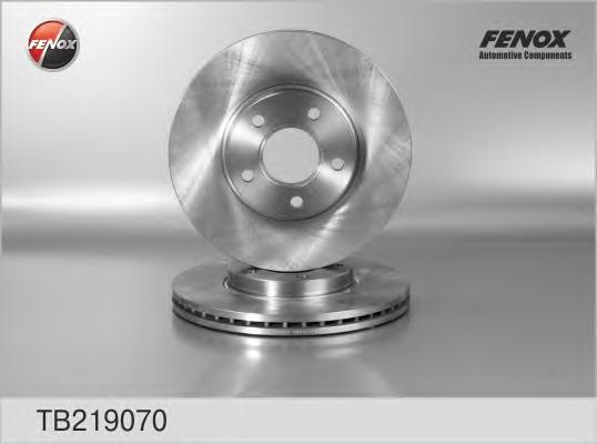 Диск тормозной передний Ford Transit Connect 02-06 TB219070
