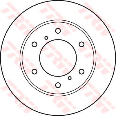 Диск тормозной передний MITSUBISHI L200 (K_4T), PAJERO SPORT II (KG_, KH_) DF4920
