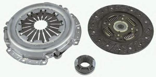 Комплект сцепления Hyundai Getz 1,4 до 05/2009, Accent II (LC) 1,5 с 10/2004 3000954230